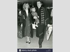 STING UK rock musician with wife Trudie Styler and