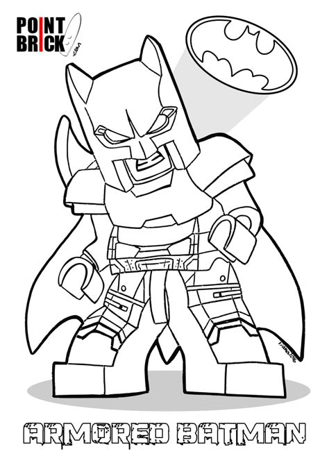 disegni da colorare di batman point brick disegni da colorare lego dc batman v