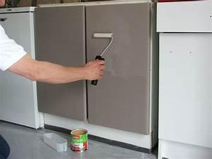 repeindre ses meubles de cuisine galerie photos d With repeindre un evier de cuisine
