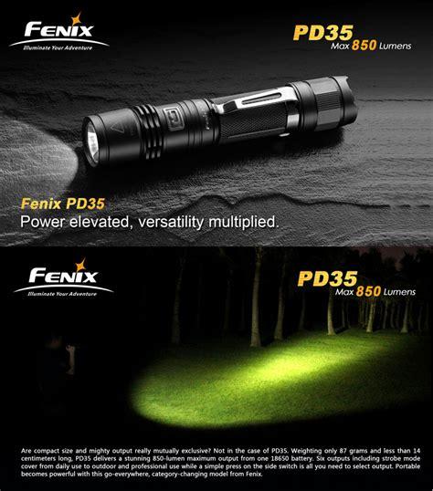 le fenix pd35 960lumens le torche tactique ultra puissante