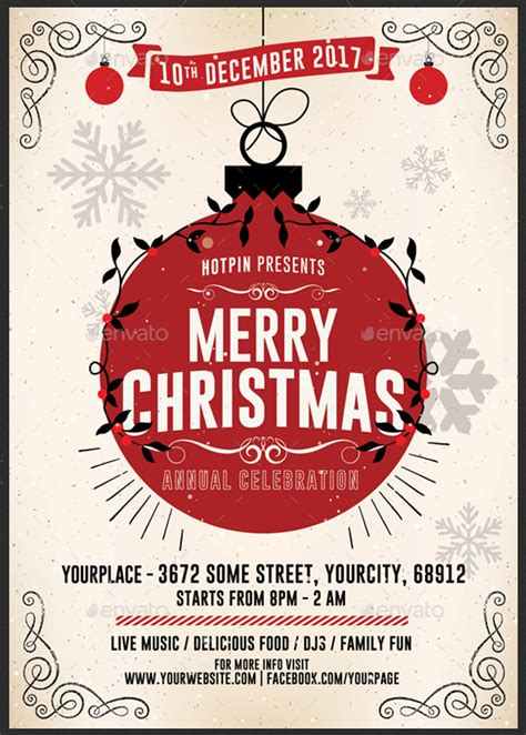 christmas twilight market flyer template free download3 50 premium free christmas templates tools for creating