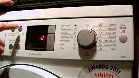 Reset Bosch Geschirrspüler by Bosch Logixx Washing Machine How To Change Beeper And