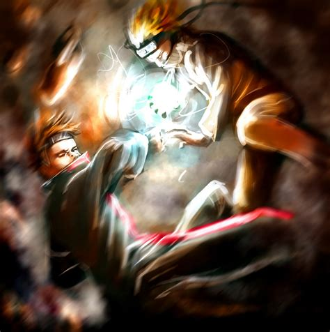 naruto vs pain anime and manga pictures image galleries