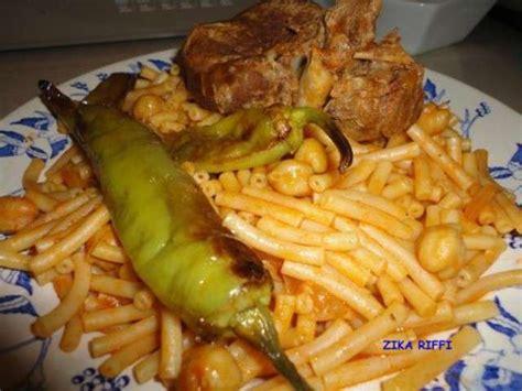 cuisine arabe recettes de pates macaronis arabes cuisine algerienne