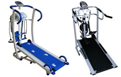 Treadmill 6 Fungsi jual alat olahraga treadmill manual 5 dan 6 fungsi in 1