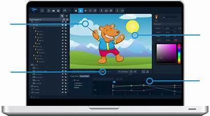 Animation 2d Software Studio Maker Softwares Animated