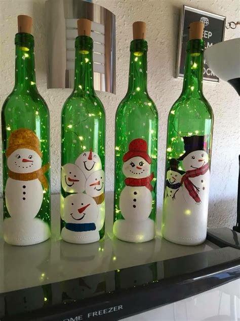 pin de carde 241 a alvarez en botellas decoradas navidad botellas botella