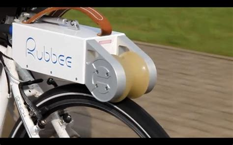 Electric Motor For Bicycle by Small Portable Motor Lets You Transform Any Bicycle Into