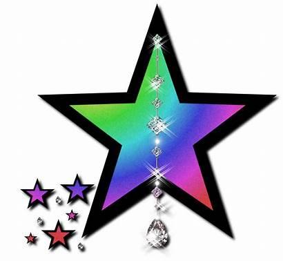 Star Sparkle Cluster Clipart Glitter Transparent Silver