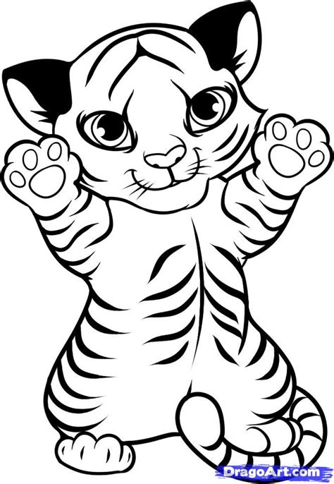 tiger cub cartoon clipartsco