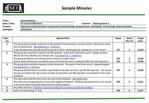 recording minutes With recording meeting minutes template