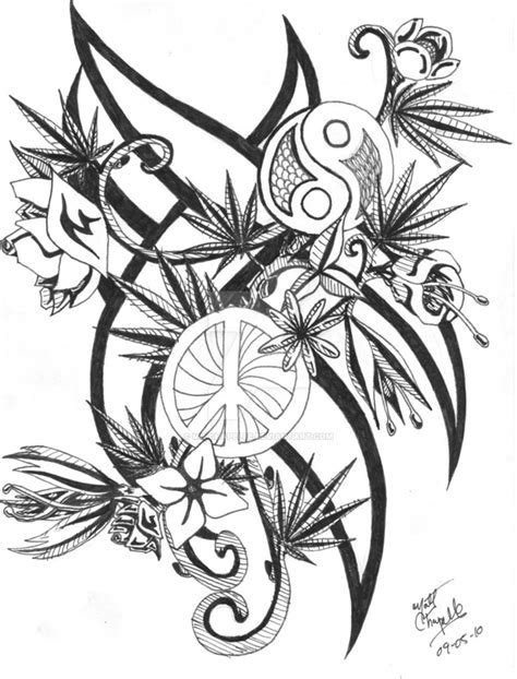 Flowers and Weed Plants by mc-chapelle on DeviantArt