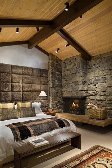 master bedroom rustic bedroom by ike kligerman barkley