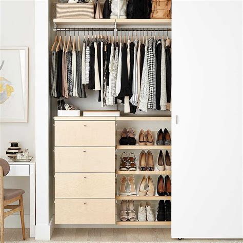Cheapest Place To Buy Wardrobes by The 8 Best Closet Systems Of 2019