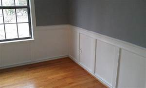 Stylish Wainscoting Ideas-Living Room wainscoting painting