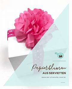 Papierblumen Aus Servietten : diy papierblumen aus servietten der schachtel shop m nchen ~ Yasmunasinghe.com Haus und Dekorationen