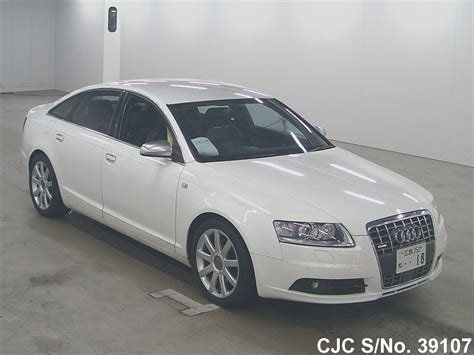 2008 audi a6 white for sale stock no 39107 used cars exporter