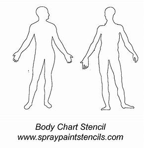 Body Paint Chart