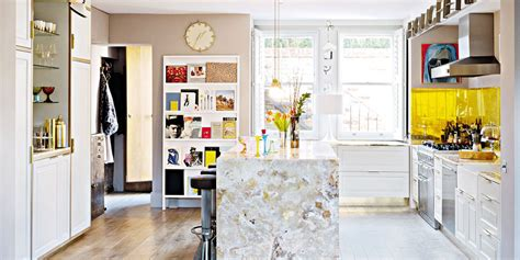 cuisine moderne jaune aménagement d 39 une cuisine les règles de base à respecter