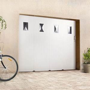 Pose d39une porte de garage coulissante leroy merlin for Porte de garage coulissante et double porte salon
