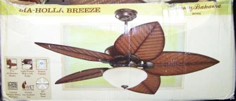 Bahama Ceiling Fan Manual by Bahama 52 Quot Ceiling Fan Ma Holla Tb152dbz Ebay