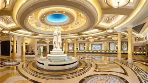 caesars palace indoor interior mosaic sculpture paintings