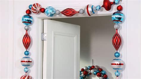 martha stewart white christmas ornaments ask martha how to make an ornament garland martha stewart
