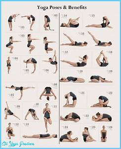 Yoga poses chart - All Yoga Positions - AllYogaPositions.com