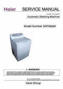Haier Gwt450aw Service Manual Download  Schematics  Eeprom  Repair Info For Electronics Experts
