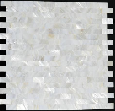of pearl sea shell mosaic kitchen backsplash tiles