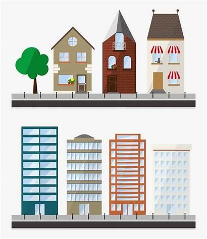 Apartment Clipart Building Transparent Vectors Clipartkey