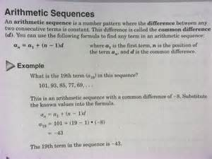 Geometric Sequence Formula