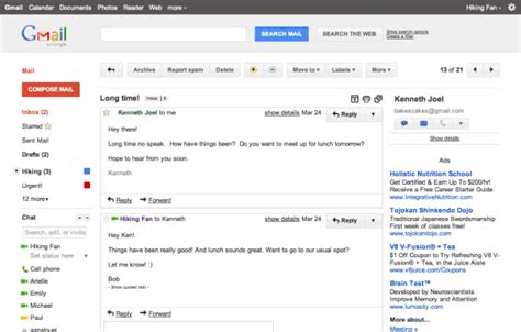 Preview  Ee  Gmail Ee  S New Interface