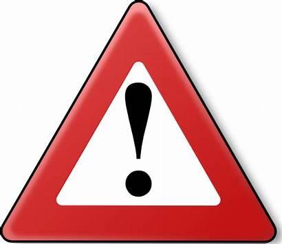 Caution Danger Clipart Warning Clip Zone Transparent
