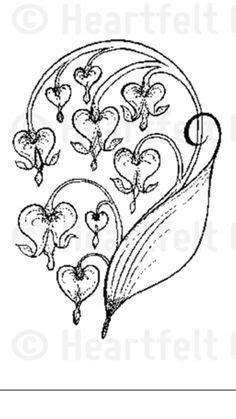 bleeding heart plant - Google Search   paperplay