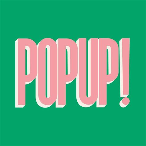 Pop Up by Pop Up Du Label 224