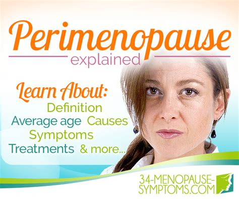 Perimenopause Information - Menopause Stages | Menopause Now