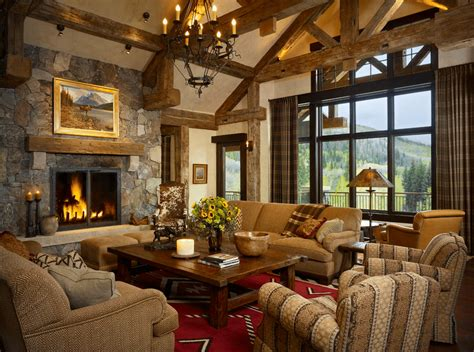 chalet style house 21 cozy living room design ideas