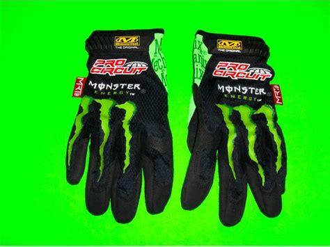 monster motocross gloves mechanix wear pro circuit monster energy motocross atv