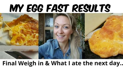 day   egg fast egg fast results