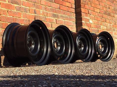Banded Steel Wheels, Vauxhall Combo, Honda Civic 4x100