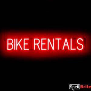 BIKE RENTALS Sign
