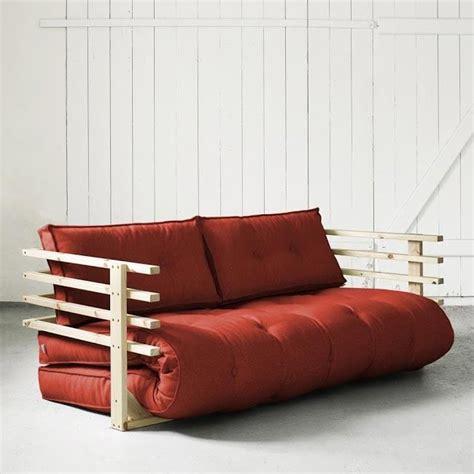 canapé futon convertible convertible funk 160 naturel futon achat vente