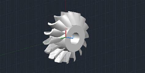 turbine  autocad drawing  dwg cadsamplecom
