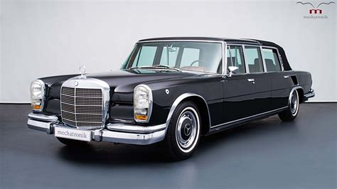 This Mercedes-benz 600 Pullman Landaulet Is Fit For A