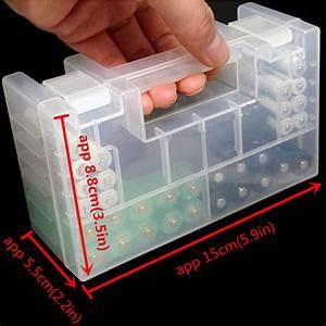 La Boite A Pile : batterie boite rangement plastique etui accus 4 aa aaa ~ Dailycaller-alerts.com Idées de Décoration