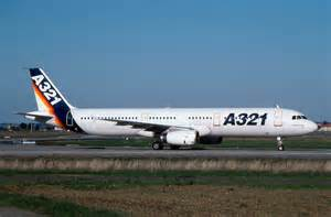Aircraft Airbus Industrie A321 Jet