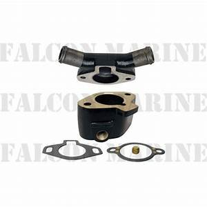 Glm 13550 Thermostat Housing Cover For Mercruiser V6 V8 W