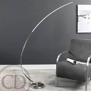 Lampadaire Salon Design : lampadaire design arc curl sur cdc design ~ Preciouscoupons.com Idées de Décoration