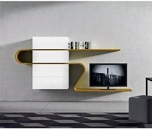 Designer Tv Board : designer tv wohnwand ~ Indierocktalk.com Haus und Dekorationen